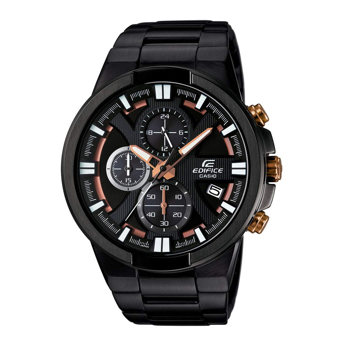 Casio Edifice Chronograph Black Dial Men's Watch - EFR-544BK-1A9VUDF (EX230)