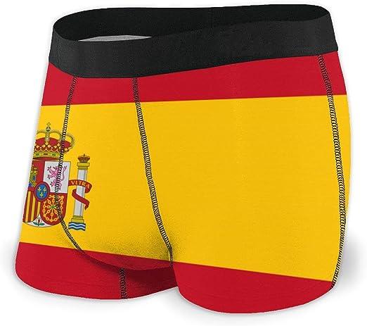 Web--ster Calzoncillos bóxer para Hombre Ropa Interior con Bandera de España Calzoncillos con Estilo y cómodos Calzoncillos elásticos Talla L: Amazon.es: Ropa y accesorios