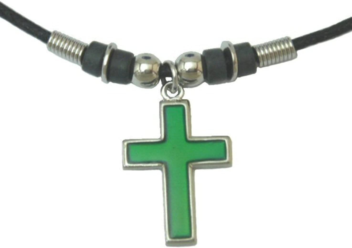 Tapp Collections Mood Pendant Necklace - Cross
