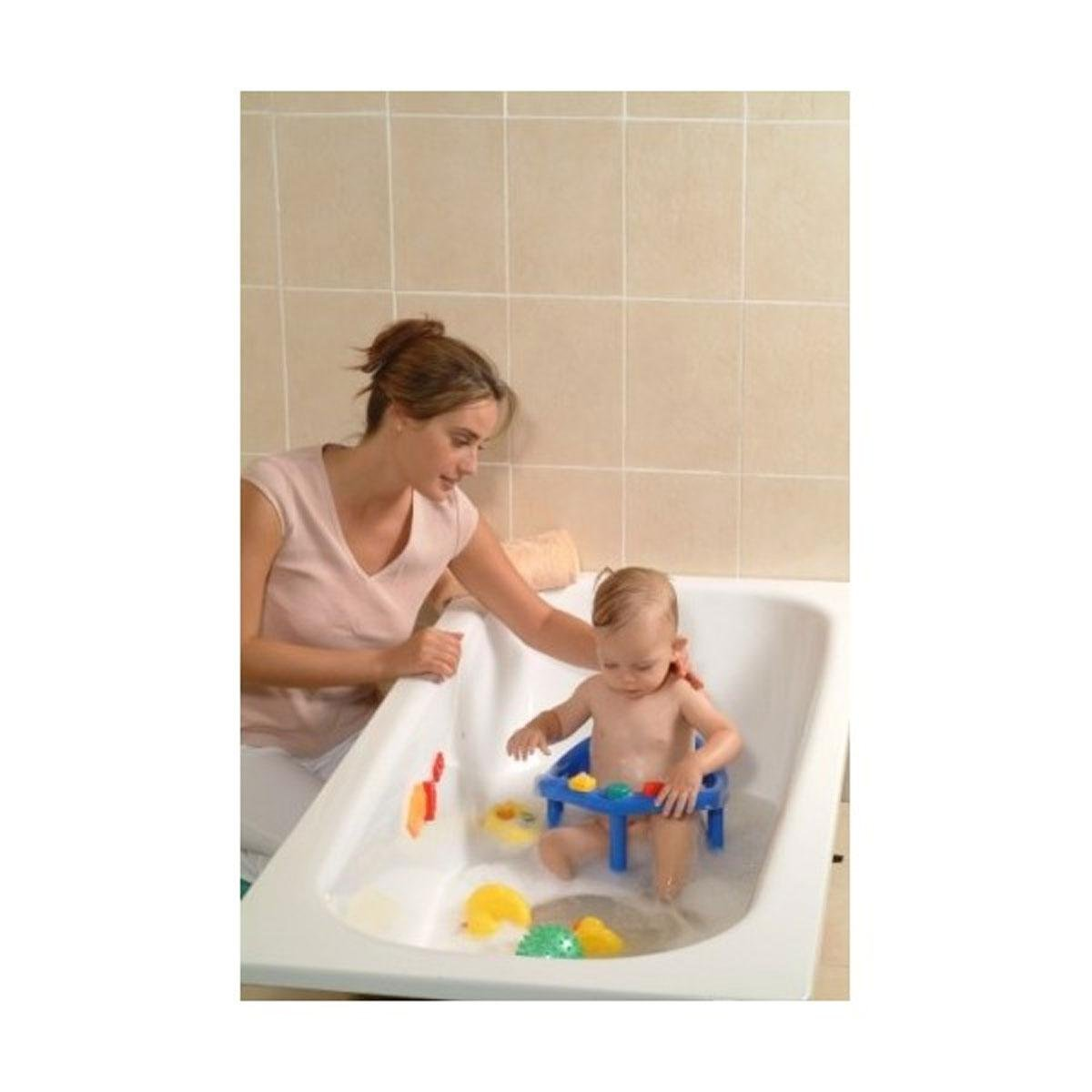 Baby Bath Tub Ring Seat New in Box By KETER - Blue or Green Best ...