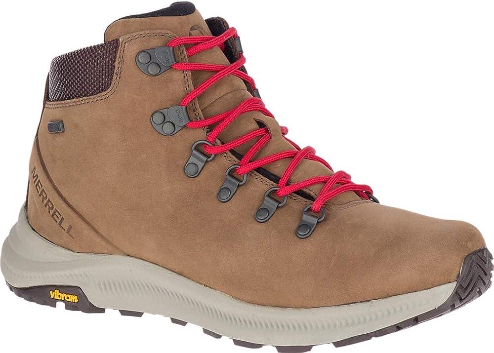 Merrell Mens Ontario Mid Waterproof Hiking Shoe