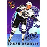 Roman Hamrlik Hockey Card 1992-93 Ultra Import #4 Roman Hamrlik