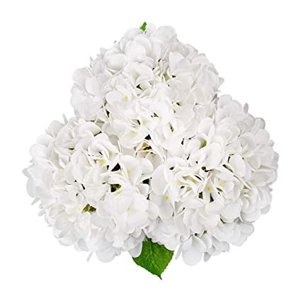 Amazon Artificial Hydrangea Silk Flowers For Wedding Bouquet