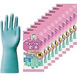 ダンロップ ホームプロダクツ 手袋 天然ゴム やわらかく丈夫 グリーン M キッチン 食器洗い 掃除 SP-8 10個セット