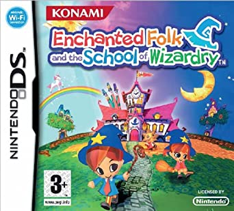 nintendo ds enchanted folk and the school of wizardry