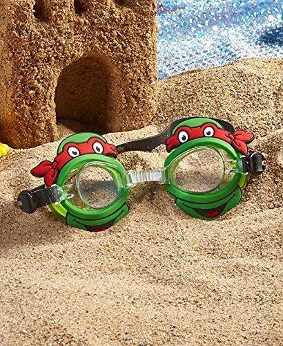 GetSet2Save Kids Favorite Character Swim Goggles (Green TMNT) ()