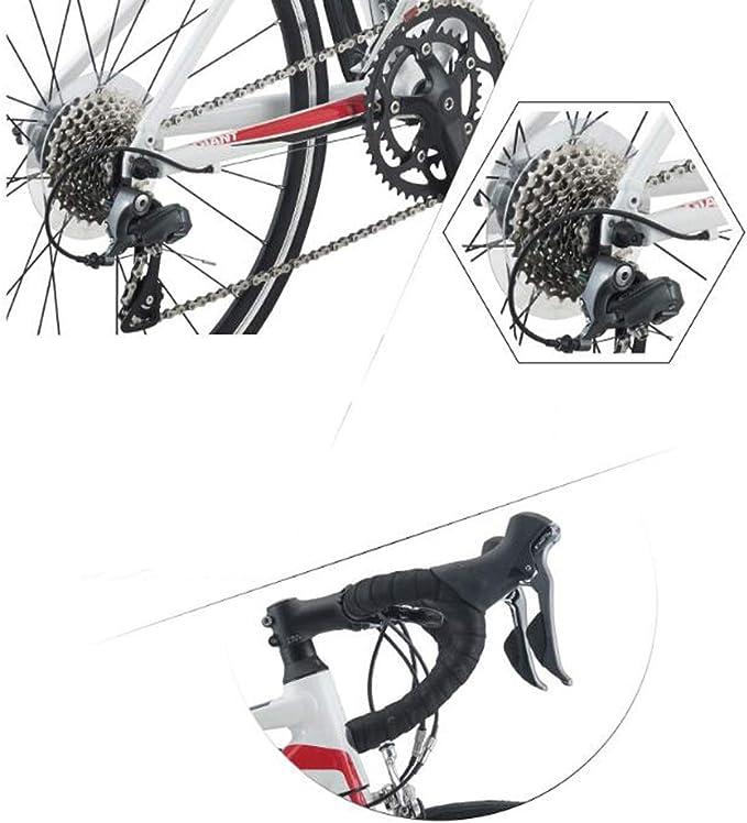 Kehuitong Bicicleta de Carretera para jóvenes de 16 velocidades y ...