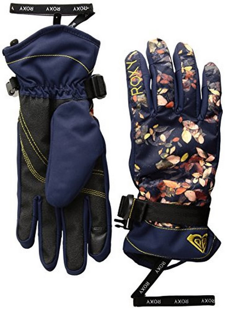 Roxy SNOW Junior's Roxy Jetty Gloves, PEACOAT_WATERLEAF, L
