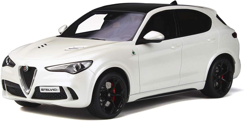 OTTO 1/18 Alfa Romeo Stelvio Quadrifoglio 2017 White OT830