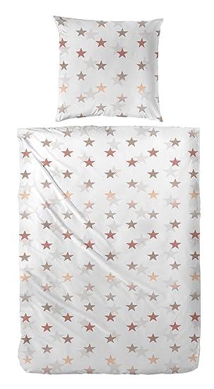 Baumwolle übergröße 155x 220cm Schiesser Bettwäsche Fein Biber