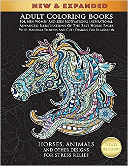 Amazon.com: Horse Coloring Book: Horse Coloring Pages for Kids ... | 336x260