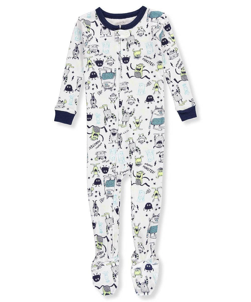 Carter's Boys' 12M-4T One Piece Glow-in-The-Dark Snug Fit Cotton Pajamas