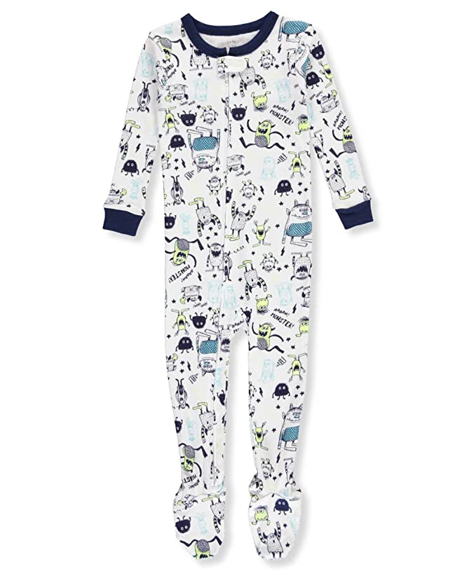 23d28e0755 Amazon.com  Carter s Boys  12M-4T One Piece Glow-in-The-Dark Snug Fit Cotton  Pajamas  Clothing