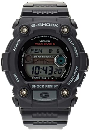 fe1d71a75164a Image Unavailable. Image not available for. Color  Casio GW-7900-1ER Mens G- Shock Tide Graph Solar Powered Watch