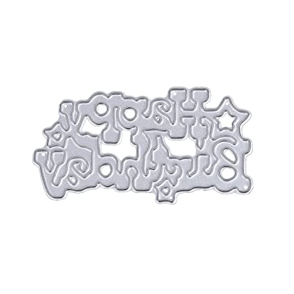Amazon Vlook001 Embossing Happy Birthday Cutting Die For DIY