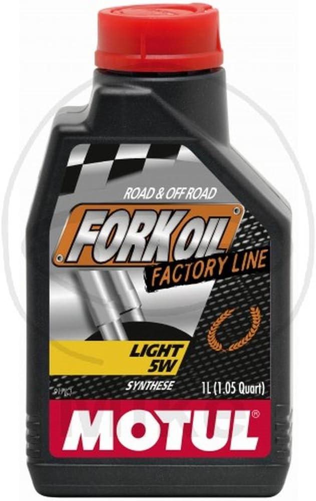 MOTUL - 105924 : Aceite de suspension FORK OIL FACTORY LINE LIGHT 5W 1 L: Amazon.es: Coche y moto