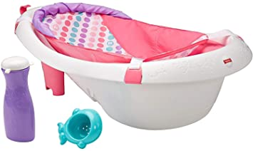 Baby Bath Time Red Basic Splash /& Play Bath Tub With Seat Support