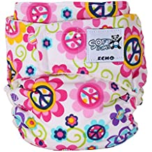 SoftBums Echo Shell with Hook and Loop, Love Blossom