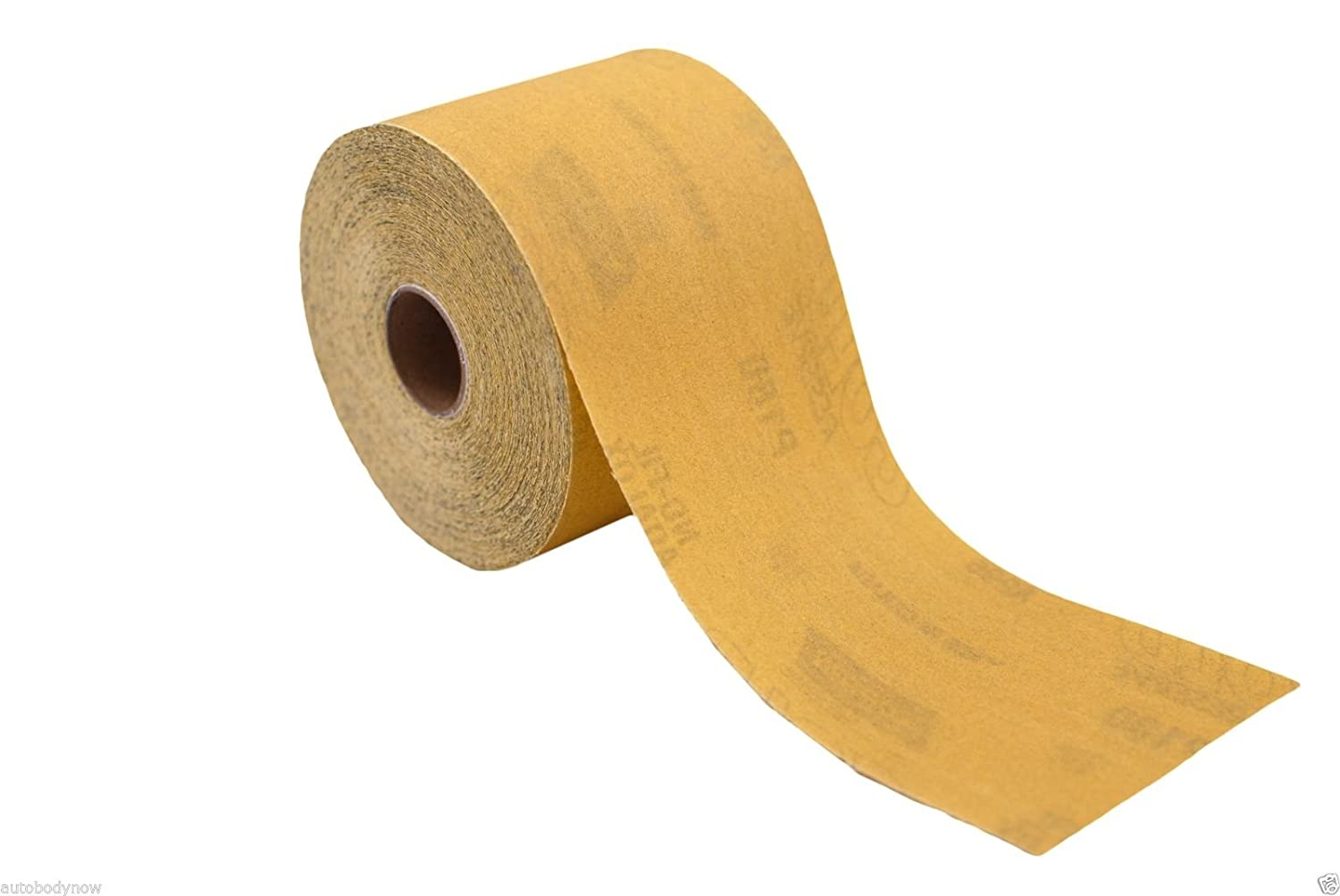 180 Grit Norton Gold PSA Sandpaper Dura Block Sticky Back Roll