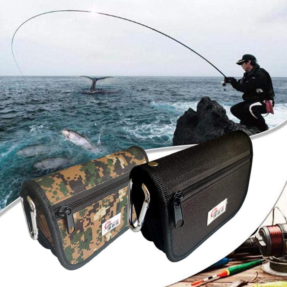 G/ürteltasche f/ür Fliegenfischen ZHIXX MALL Angeltasche 12,5 x 18,5 cm