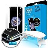 Dome Glass, Vetro Temperato Galaxy S9, Custodia Compatibile, Whitestone Copertura Completa 3D Schermo Edge [Tecnologia Liquid Dispersion] per Samsung Galaxy S9