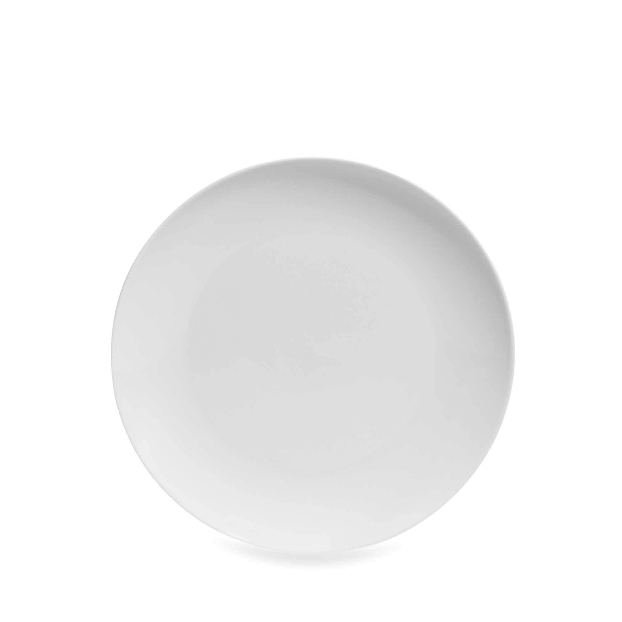 Everyday White by Fitz and Floyd Coupe Salad Plate 8in
