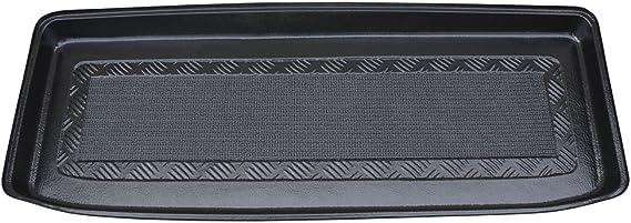 Nera Element Tronco bagagliaio Vasca Baule antiscivolo premium su misura SUZUKI Jimny MK4 IV AZ 2018 ohne organizer