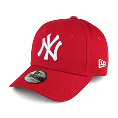 Casquette de Baseball Enfant 9FORTY New York Yankees rouge NEW ERA - Taille  Enfant Ajustable 0200b9a7926