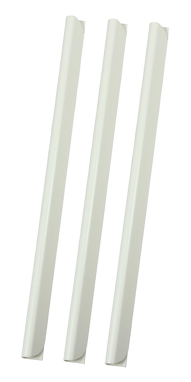 R & B K 4 WS di serraggio, 4 mm fino a 30 fogli in formato A4, 100 pezzi 4mm fino a 30fogli in formato A4 100pezzi r&b Laminiersysteme K-4-WS