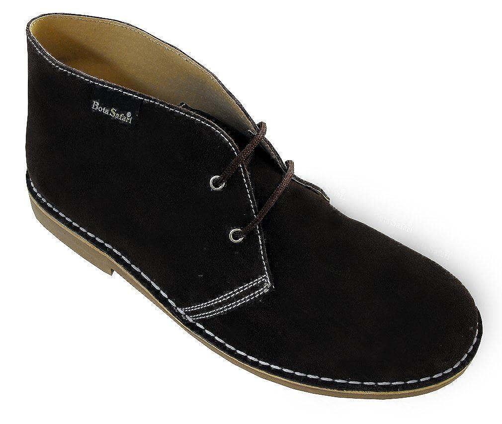 Botines de Piel de Serraje con Cordones en Color Marron. Todas Las Tallas Disponibles.: Amazon.es: Zapatos y complementos