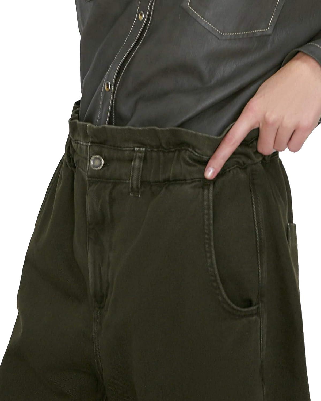 Zara Women Jeans z1975 Baggy con Bolsillos 5862/154/507 Verde ...
