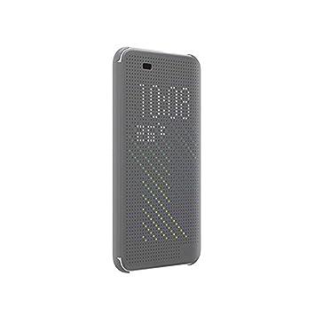 Funda Desire 820, Ordica ES®, Carcasa HTC Desire 820 con Tapa a Libro [Dot View Compatible] Case Slim Resistente Case Accesorios Anti Golpes, Color ...