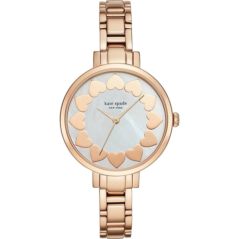 Kate Spade New York Damen-ksw1036 Gramercy Analog Display Analog Quarz Rose Gold Watch