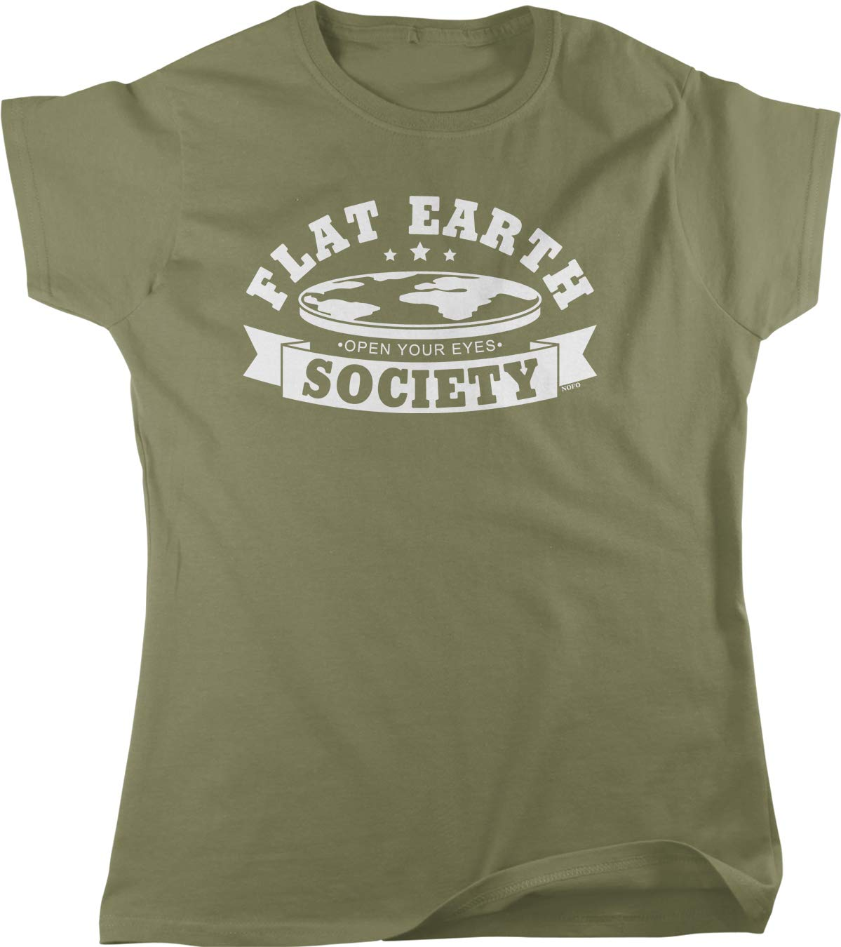 Clothing Co Flat Earth Society Women's Shirts