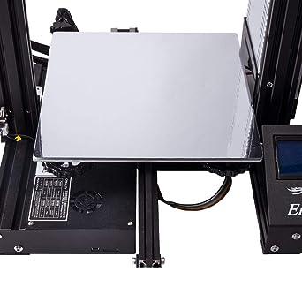 Creality - Placa de fibra de vidrio para impresora 3D con 3 ...