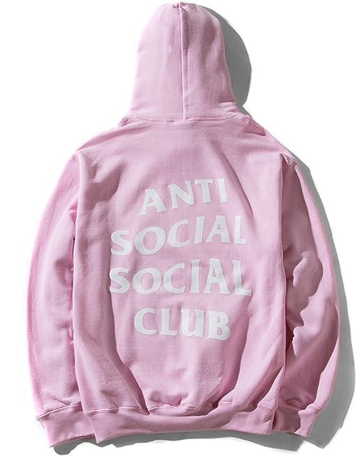 b8ae799381ad Mars NY Unisex Antisocial Social Club Hoodie Kanye West Hoodie (SMALL)