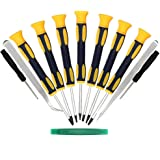 Kingsdun 12 in 1 Torx Screwdriver Sets with T3 T4 T5 T6 T7 T8 T10 Star Screwdrivers, Stainless Steel Tweezers & Philip…