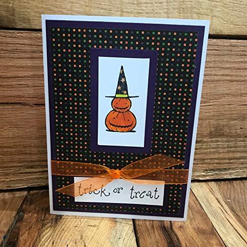 Pile of Pumpkins Halloween Blank Greeting Card -