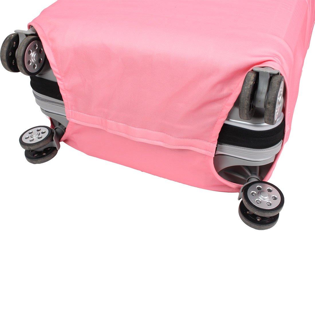 Gepäck Polyester Elefant Muster staubdicht Abdeckung Tasche Rosa 26 ...