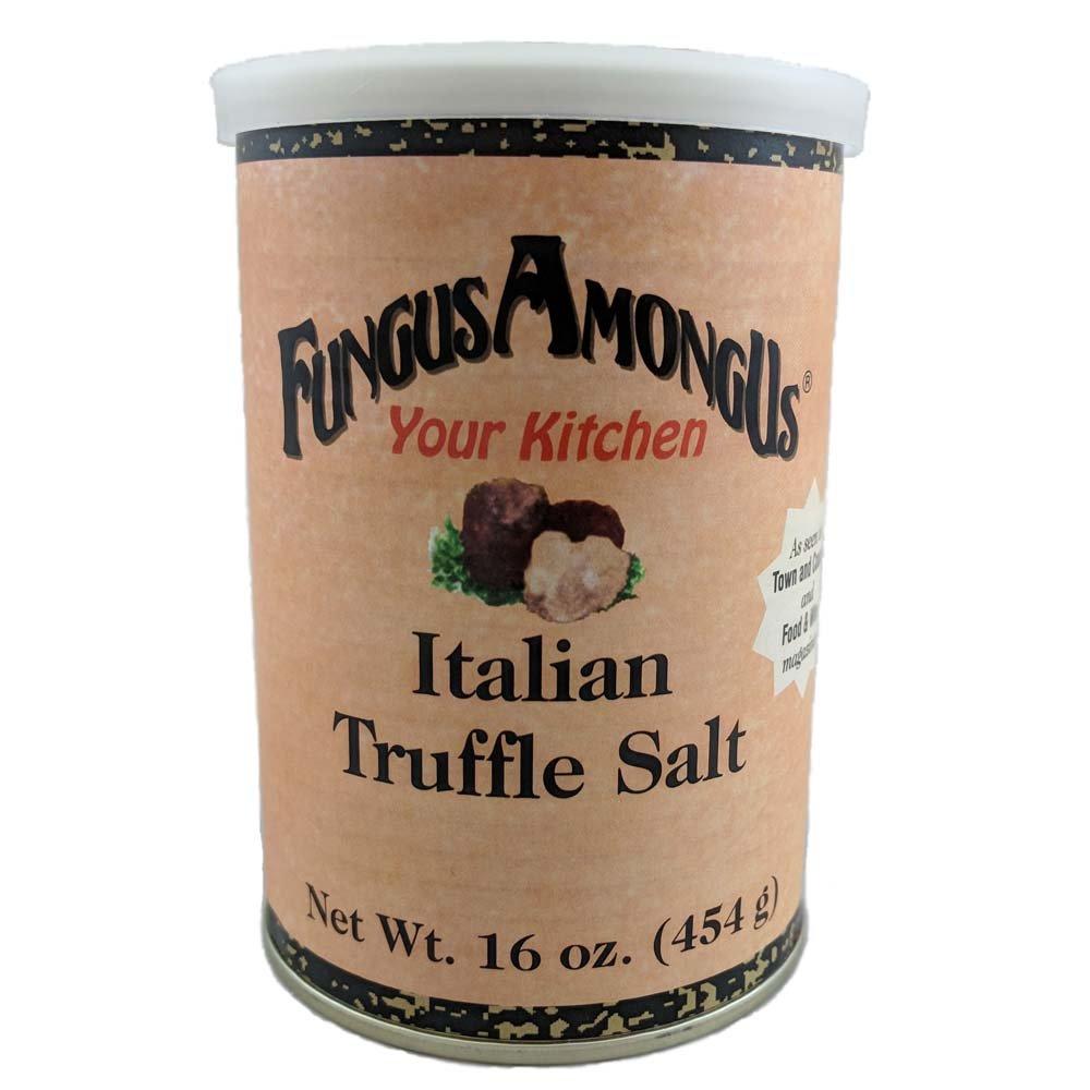 FungusAmongUs Your Kitchen, Truffle Salt, 1-Pound