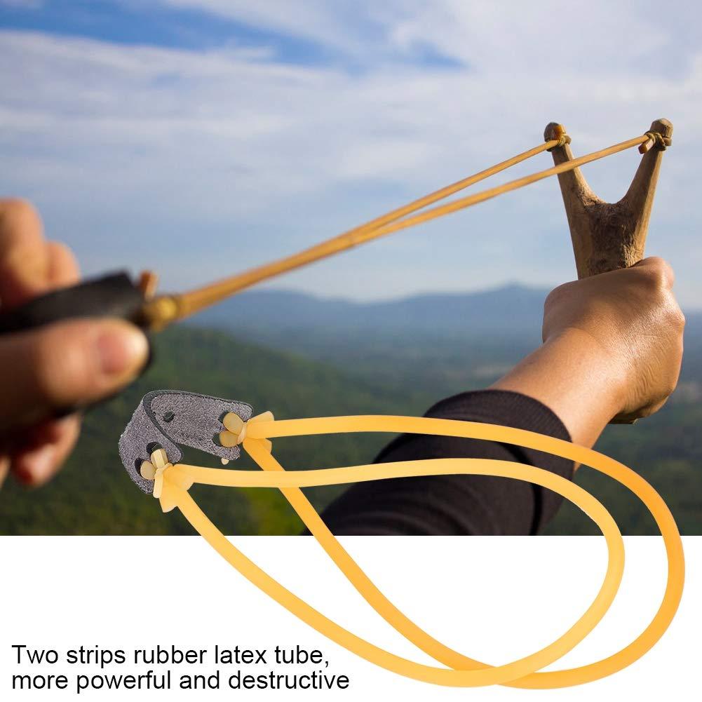 Elastico in Gomma catapulta Fionda Tubolare Strumento Caccia Cavo VGEBY1 10pcs Fasce Elastiche