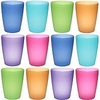 idea-station Neo Vasos plástico 12 Piezas, 250 ml