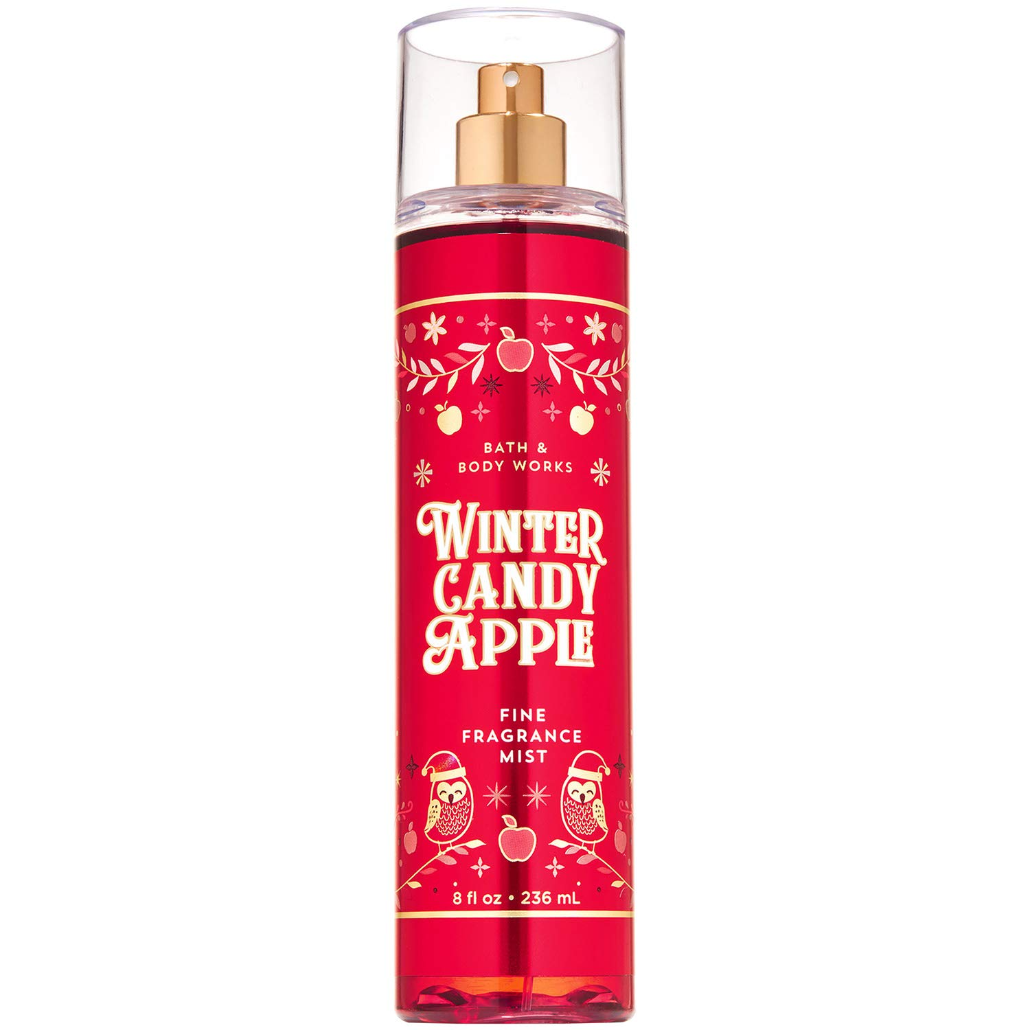 Bath and Body Works WINTER CANDY APPLE Fine Fragrance Mist 8 Fluid Ounce (2019 Edition)