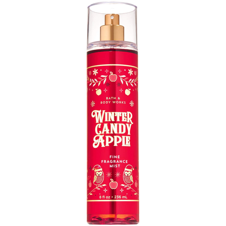 Bath and Body Works WINTER CANDY APPLE Fine Fragrance Mist 8 Fluid Ounce (2019 Edition)
