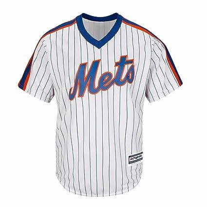 brand new 9d6c1 7aab7 Amazon.com : Majestic New York Mets MLB Men's Cool Base ...