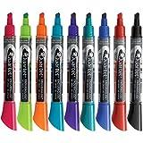 dry board markers - Quartet Dry Erase Markers, EnduraGlide, Chisel Tip, 12 Pack (5001-20MA)