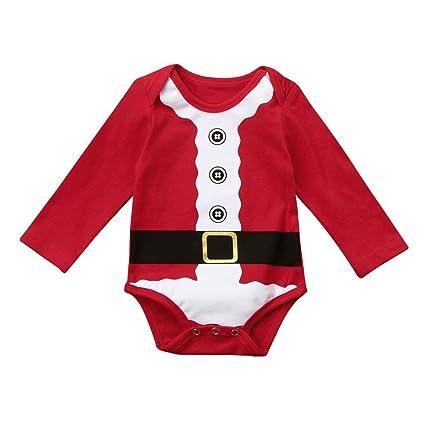eacd5ecd2 Amazon.com  Fheaven Newborn Infant Baby Boy Girl One Pcs Romper ...