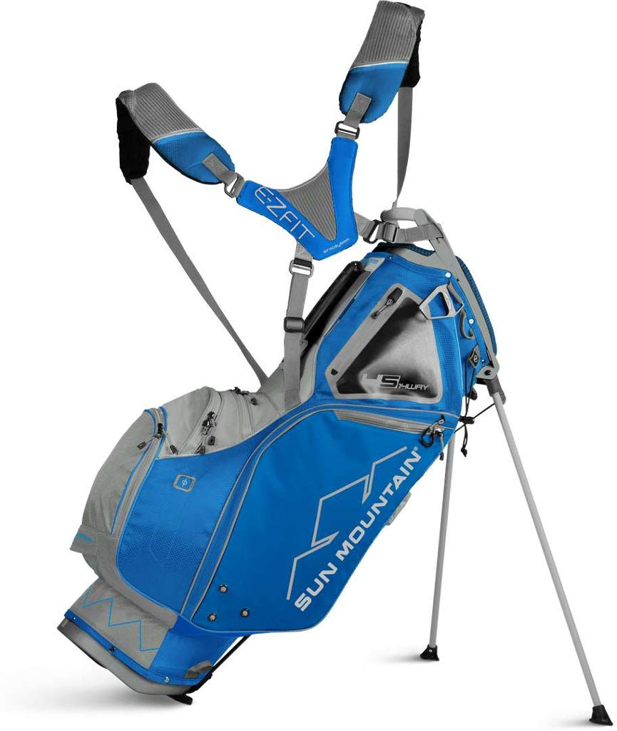 Sun Moutain Golf 2019 4.5 LS 14-Way Stand Golf Bag COBALT-CEMENT (Cobalt-Cement) by Sun Mountain