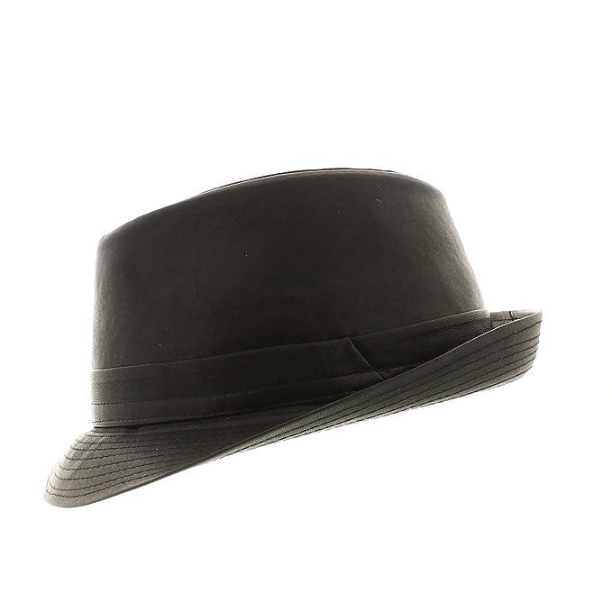 votrechapeau - Cappello Trilby - Piccolo bordo - Prato - Impermeabile   Amazon.it  Abbigliamento d1b21163c8a2