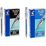 Pilot G-Tec-C4 Gel Rolling Ball Pens, Ultra Fine Point Bundle, 1 Dozen Blue, 1 Dozen Black